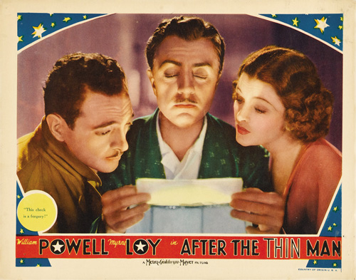 after the thin man lobby card 6