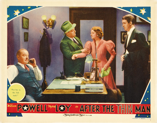 after the thin man lobby card 8
