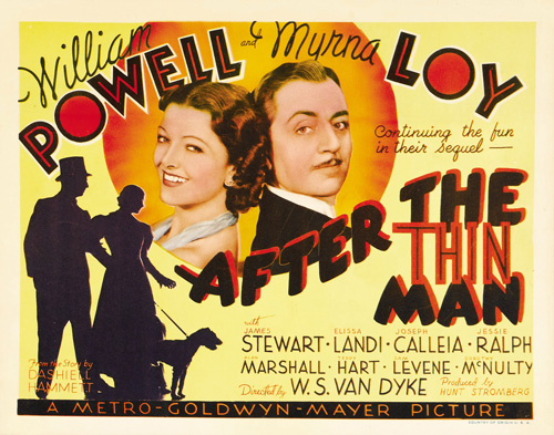 after the thin man title lobby card