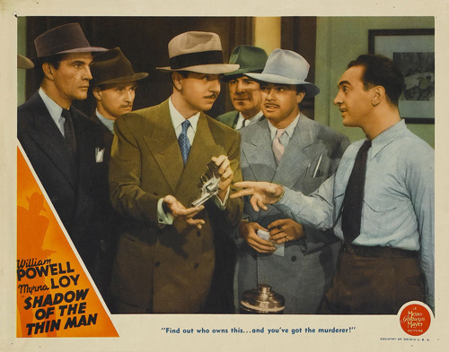 shadow of the thin man lobby card 4