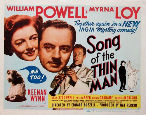 song of the thin man title lobby card