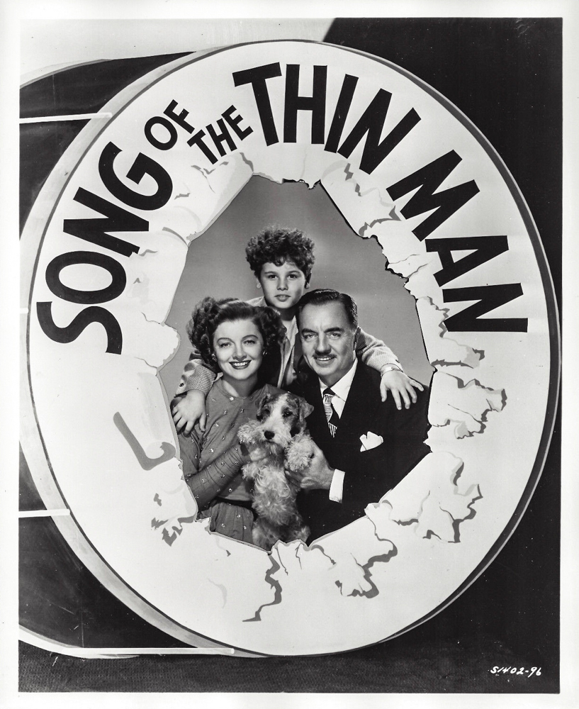song of the thin man 1947 publicity still photo s1402-96