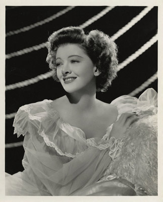 myrna loy moive still the thin man goes home 1945