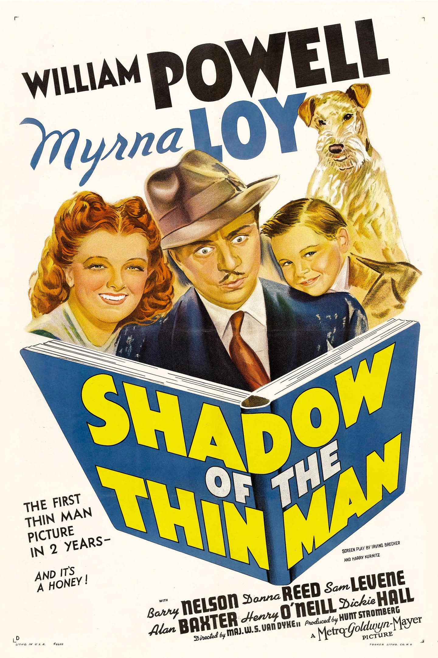 shadow of the thin man 1 sheet style d movie poster