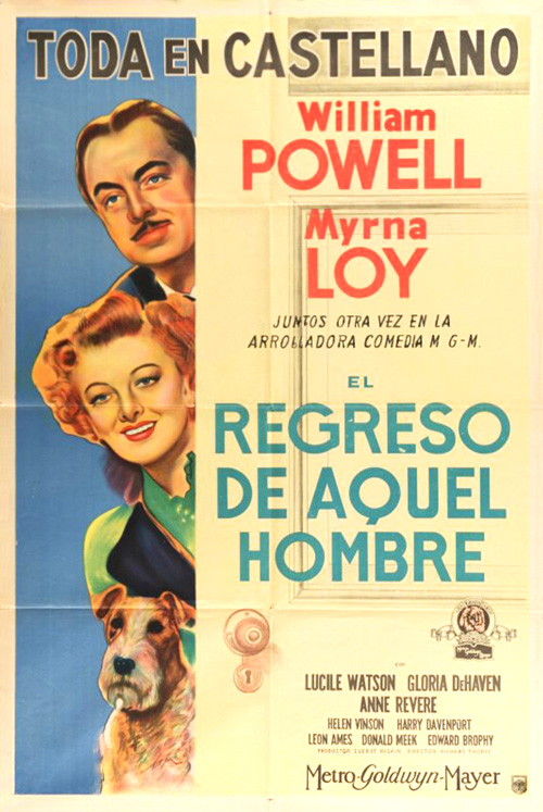 the thin man goes home argentinean 1 sheet