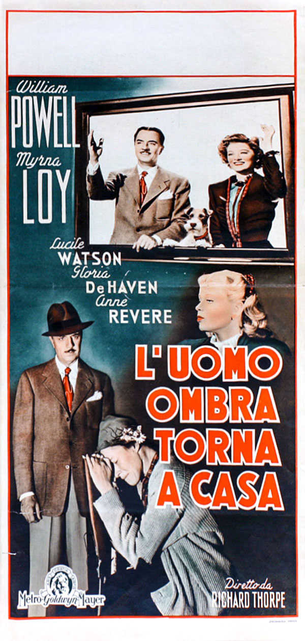the thin man goes home us insert movie poster